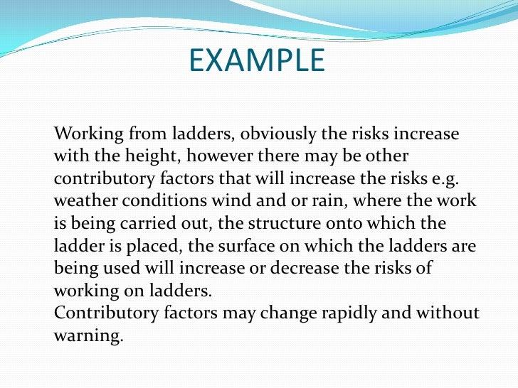 risk assessment nvq