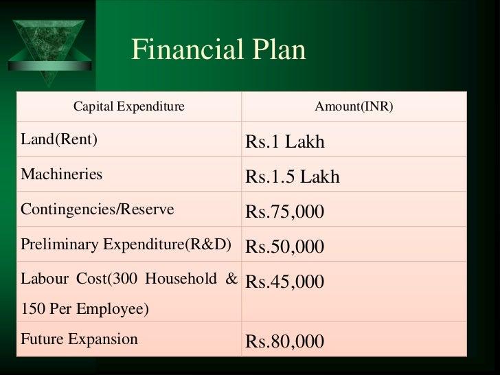 Business plan sample – Spend Plan Template