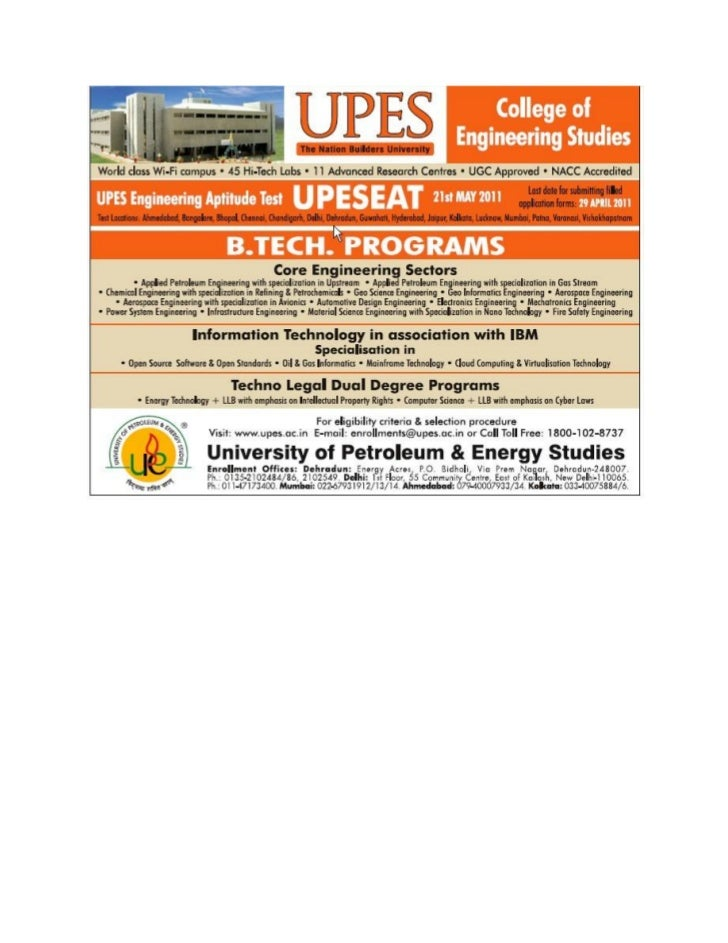 UPES B.tech programs