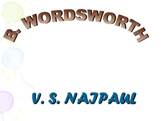 V. S. NAIPAULV. S. NAIPAUL