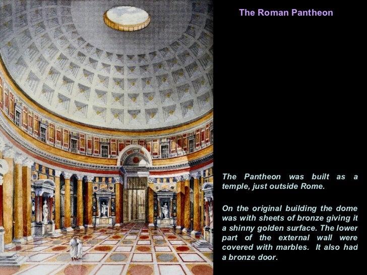 Roman Architecture Dome pantheon rome