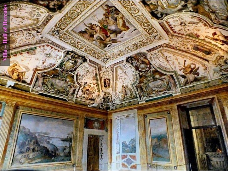 Villa – Hall of Hercules