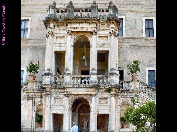 Villa's Garden Facade