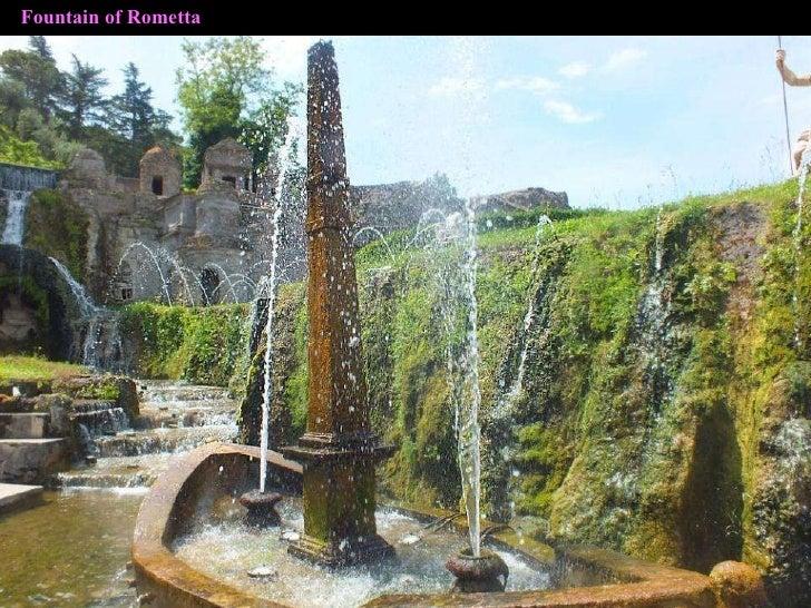 Fountain of Rometta