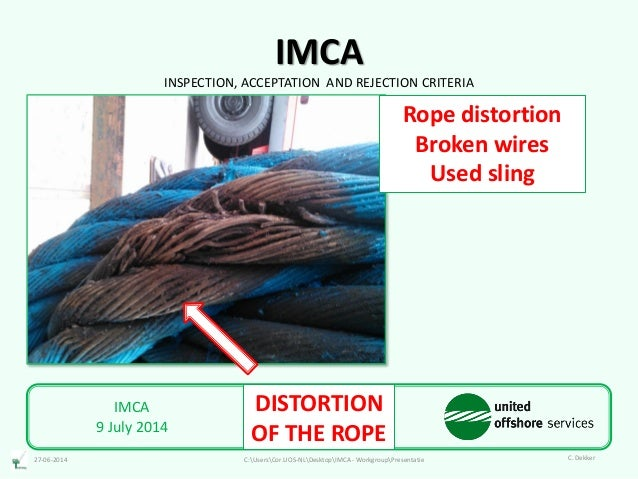 IMCA Inspection Acceptance Discard-criteria rev.3