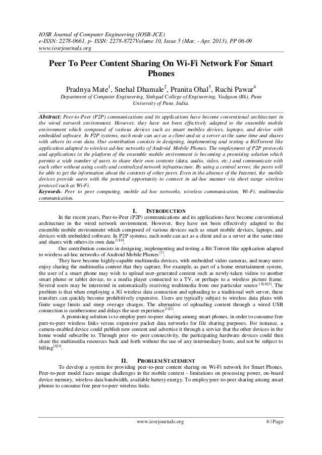 IOSR Journal of Computer Engineering (IOSR-JCE) e-ISSN: 2278-0661, p- ISSN: 2278-8727Volume 10, Issue 5 (Mar. - Apr. 2013)...