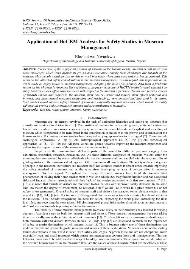 IOSR Journal Of Humanities And Social Science (IOSR-JHSS) Volume 11, Issue 2 (May. - Jun. 2013), PP 08-13 e-ISSN: 2279-083...