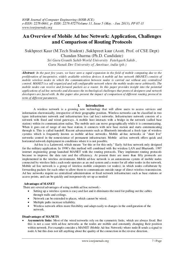 IOSR Journal of Computer Engineering (IOSR-JCE) e-ISSN: 2278-0661, p- ISSN: 2278-8727Volume 11, Issue 5 (May. - Jun. 2013)...