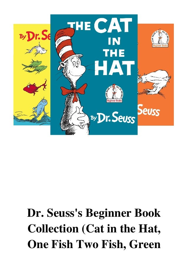 Dr Seuss The Cat In The Hat Pdf