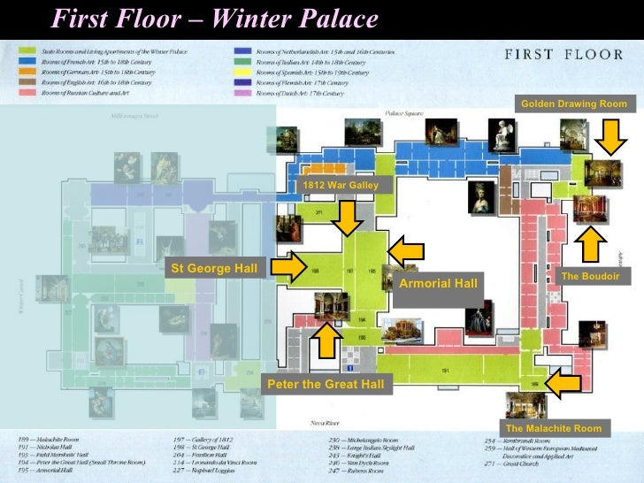 First Floor Winter Palace
