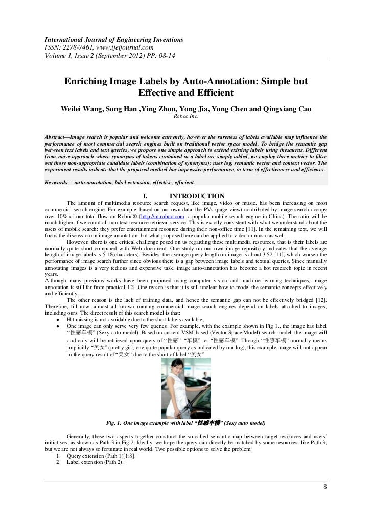 International Journal of Engineering InventionsISSN: 2278-7461, www.ijeijournal.comVolume 1, Issue 2 (September 2012) PP: ...