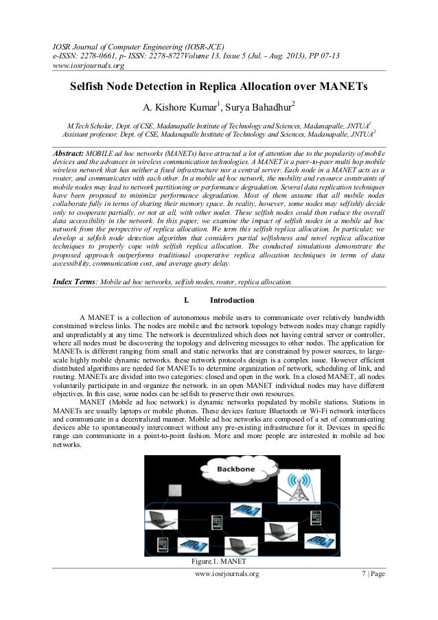 IOSR Journal of Computer Engineering (IOSR-JCE) e-ISSN: 2278-0661, p- ISSN: 2278-8727Volume 13, Issue 5 (Jul. - Aug. 2013)...