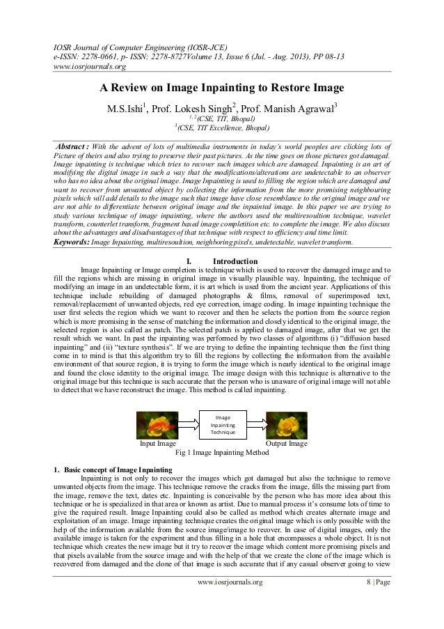 IOSR Journal of Computer Engineering (IOSR-JCE) e-ISSN: 2278-0661, p- ISSN: 2278-8727Volume 13, Issue 6 (Jul. - Aug. 2013)...