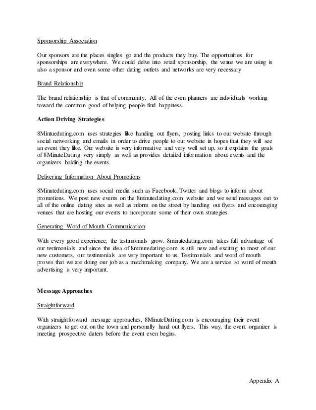 8minutedating website template