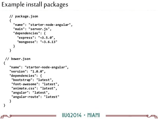 You know what iMEAN? Using MEAN stack for application dev on