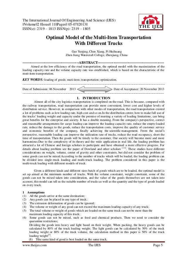 The International Journal Of Engineering And Science (IJES) ||Volume||2 ||Issue|| 11||Pages|| 05-07||2013|| ISSN(e): 2319 ...