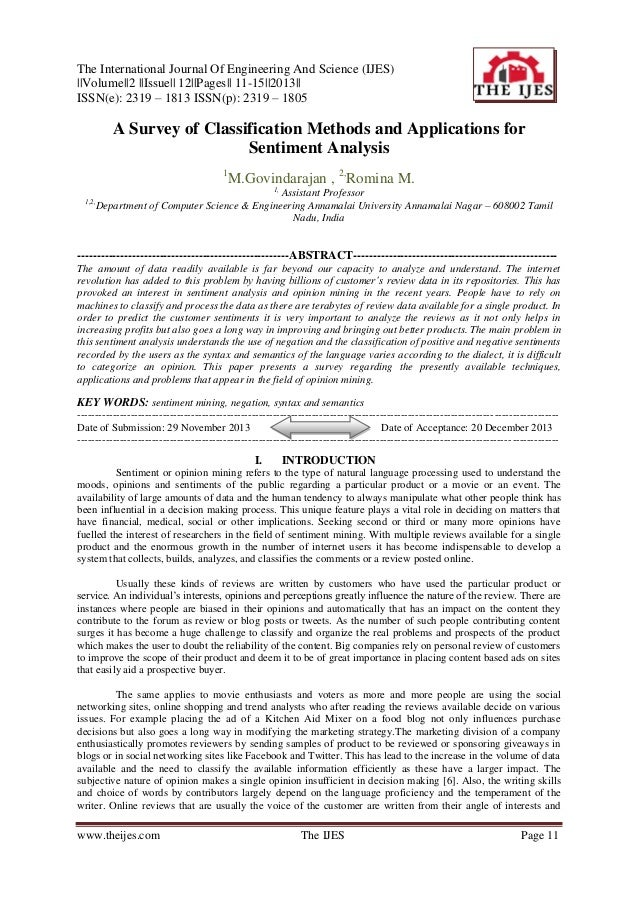 The International Journal Of Engineering And Science (IJES) ||Volume||2 ||Issue|| 12||Pages|| 11-15||2013|| ISSN(e): 2319 ...
