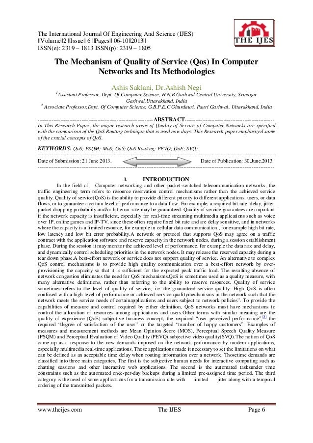 The International Journal Of Engineering And Science (IJES) ||Volume||2 ||Issue|| 6 ||Pages|| 06-10||2013|| ISSN(e): 2319 ...