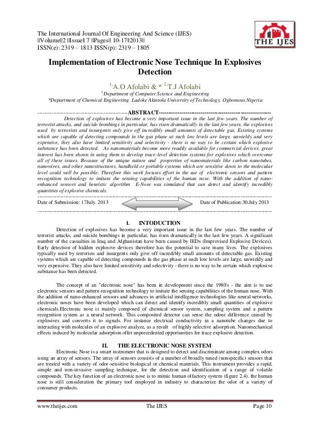 The International Journal Of Engineering And Science (IJES) ||Volume||2 ||Issue|| 7 ||Pages|| 10-17||2013|| ISSN(e): 2319 ...