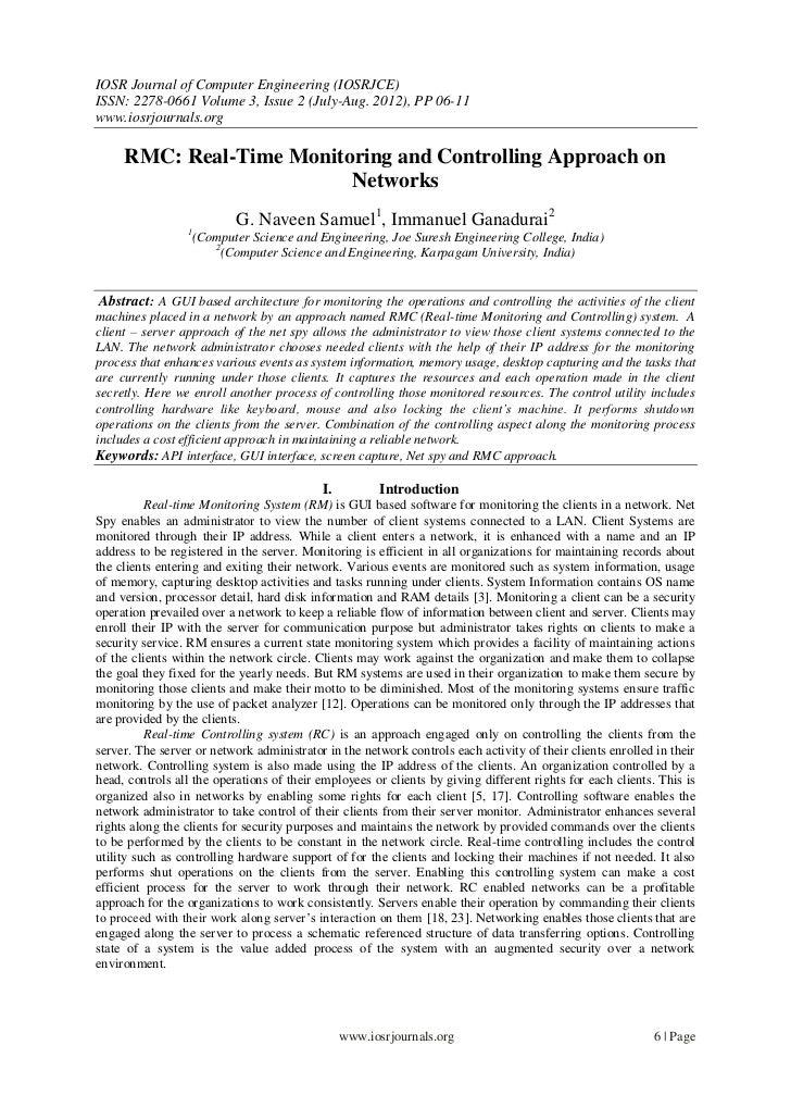 IOSR Journal of Computer Engineering (IOSRJCE)ISSN: 2278-0661 Volume 3, Issue 2 (July-Aug. 2012), PP 06-11www.iosrjournals...
