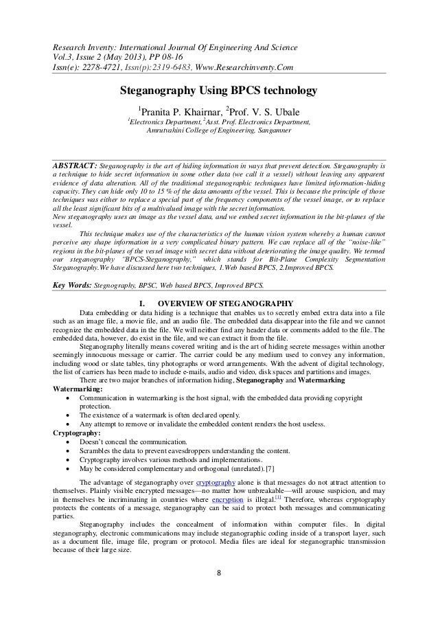 Research Inventy: International Journal Of Engineering And ScienceVol.3, Issue 2 (May 2013), PP 08-16Issn(e): 2278-4721, I...