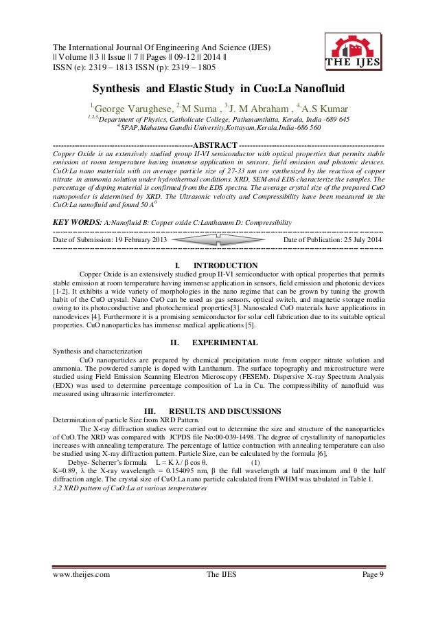 The International Journal Of Engineering And Science (IJES) || Volume || 3 || Issue || 7 || Pages || 09-12 || 2014 || ISSN...