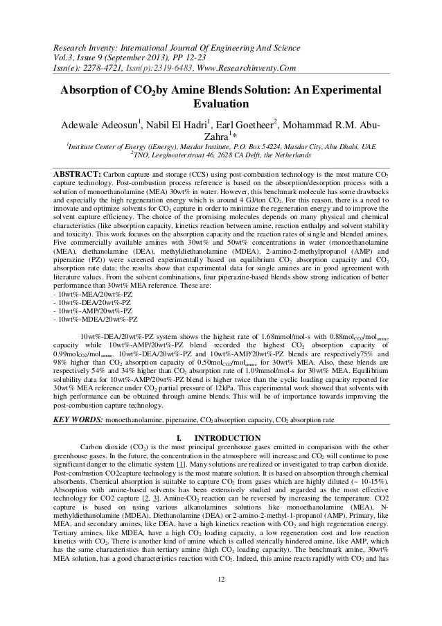 Research Inventy: International Journal Of Engineering And Science Vol.3, Issue 9 (September 2013), PP 12-23 Issn(e): 2278...
