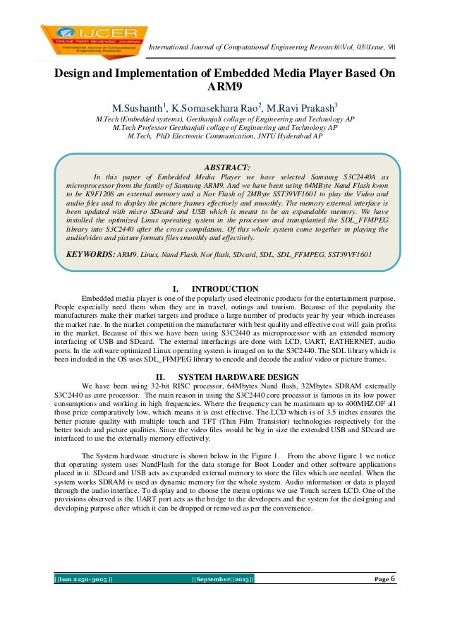 International Journal of Computational Engineering Research  Vol, 03  Issue, 9     Issn 2250-3005      September  2013   P...
