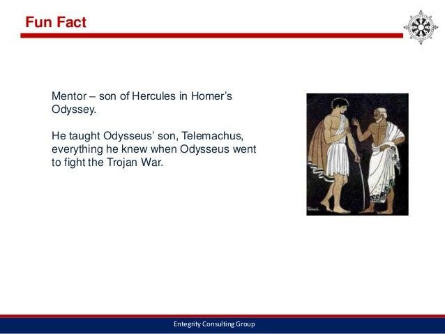 Compare/Contrast Odysseus and Telemachus?