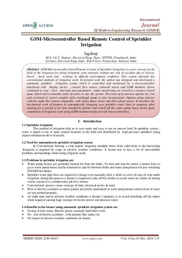 International  OPEN ACCESS Journal  Of Modern Engineering Research (IJMER)    IJMER   ISSN: 2249–6645   www.ijmer.com   Vo...