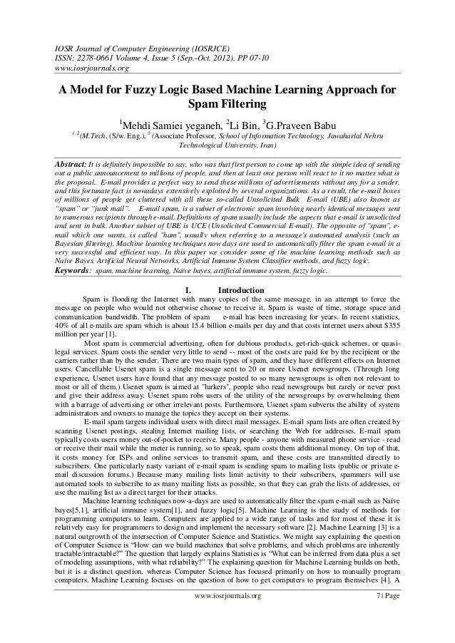 IOSR Journal of Computer Engineering (IOSRJCE) ISSN: 2278-0661 Volume 4, Issue 5 (Sep.-Oct. 2012), PP 07-10 www.iosrjourna...