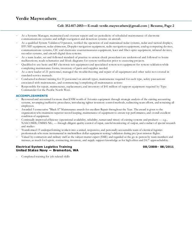 Mayweather New - Resume 11212016