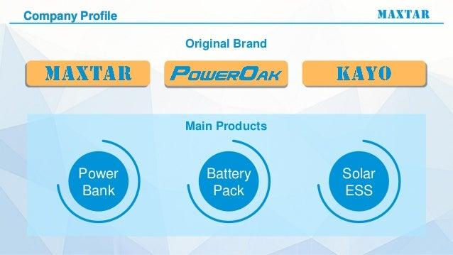 Kayomaxtar Poweroak New Products Demo