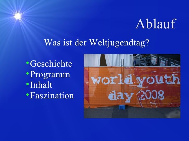 World Youth Day Maturitywork Slide 2