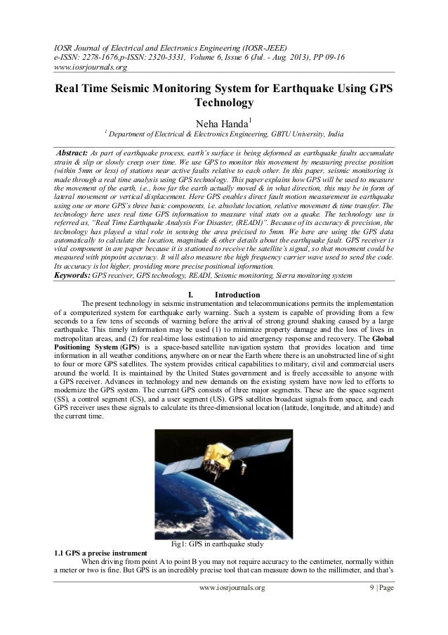 IOSR Journal of Electrical and Electronics Engineering (IOSR-JEEE) e-ISSN: 2278-1676,p-ISSN: 2320-3331, Volume 6, Issue 6 ...