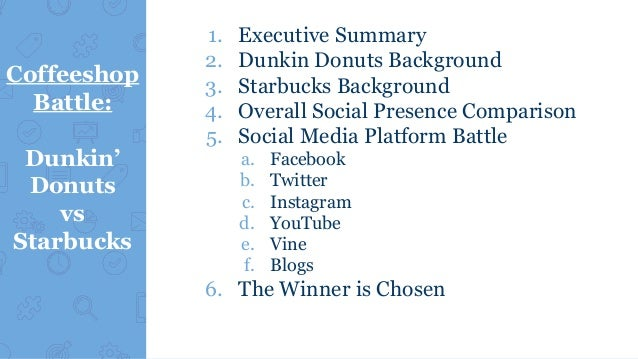 executive summary of dunkin donuts Free donut shop donut shop sample business plan for donut shop - business plan of a narrative (body) and financial worksheets work through the sections in any order that you want, except for the executive summary doughnut, doughnuts, dunkin donuts, glaze, krispy kreme.