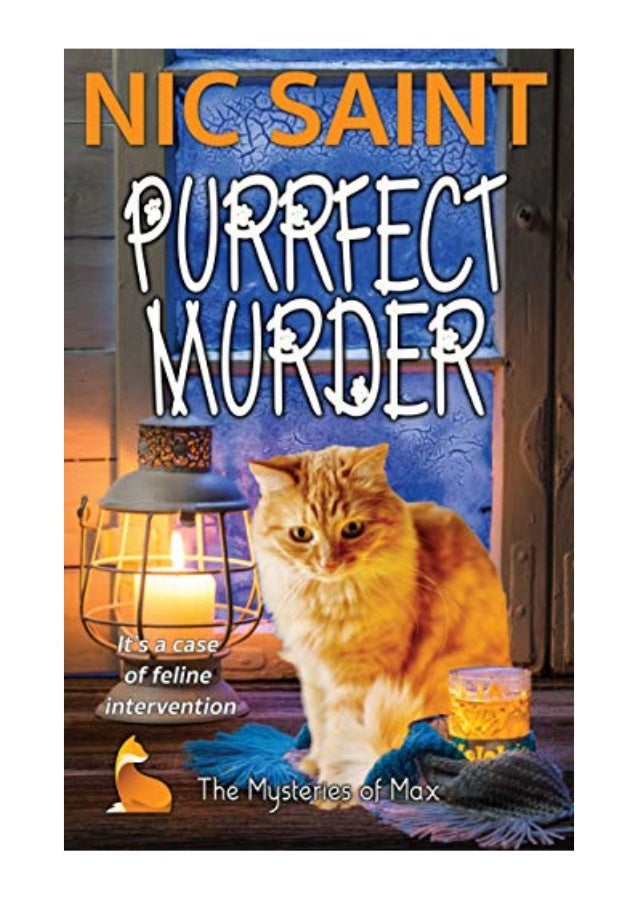 Purrfect Murder (The Mysteries of Max Book 1) - Nic Saint - eBook