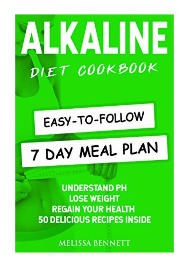 Alkaline Diet Cookbook PDF - Melissa Bennett Understand PH