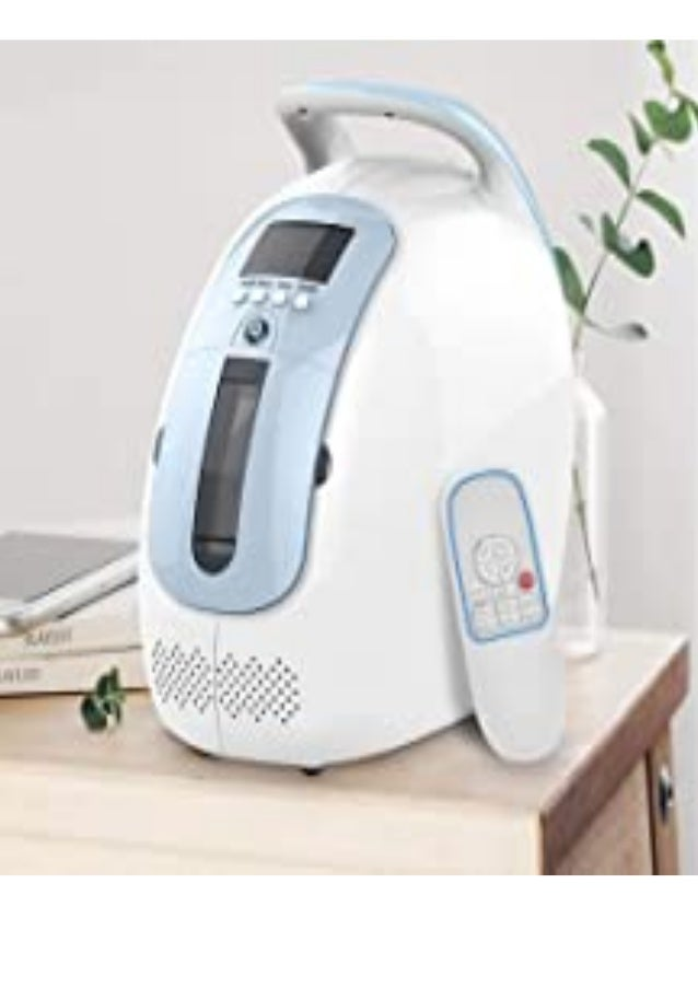 get HUKOER Oxygen Concentrator Adjustbale 1-5 L/Min 90%±3 for Elderly and Pregnant Air Concentrator Generator 45 dB with R...
