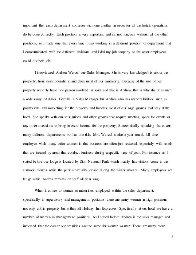 internship experince essay  3