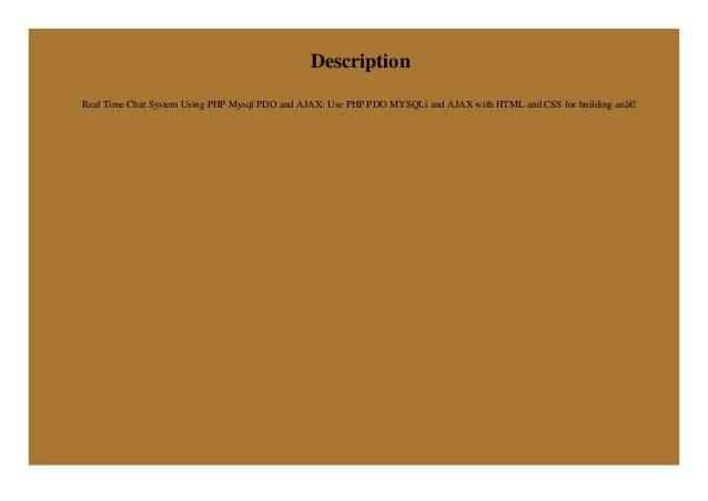 Chat php mysql download