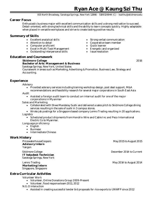 ryan ace resume rh slideshare net guided reading activity 10-1 bureaucratic organization answer key Blank Answer Key