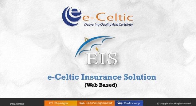 e-Celtic Insurance Solution (Web Based)