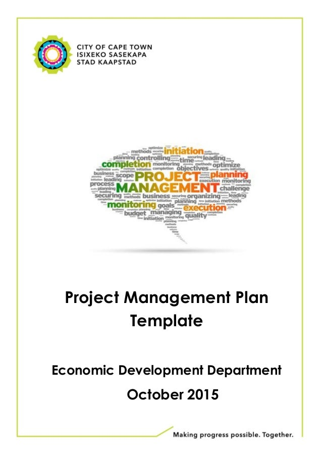 demand management plan template - proposed project plan template