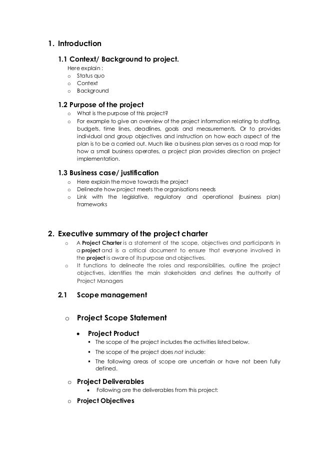 Project Plan Outline Onweoinnovate