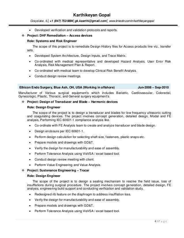 process validation engineer sample resume download process