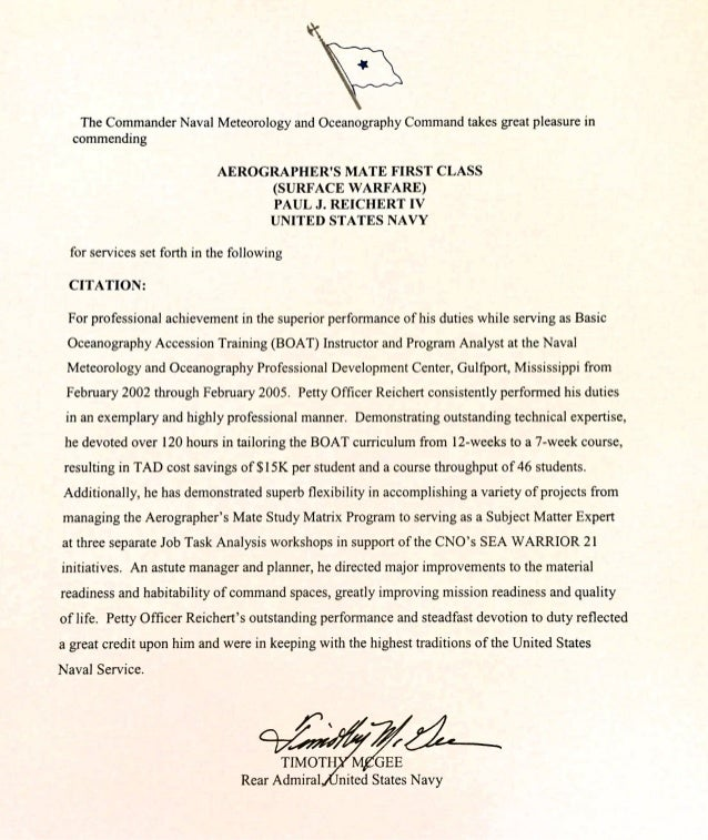 Letter of mendation 1
