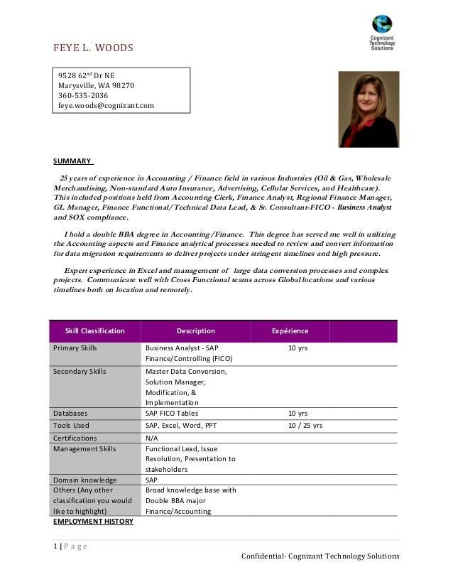 sap fico resume sample - Monza berglauf-verband com