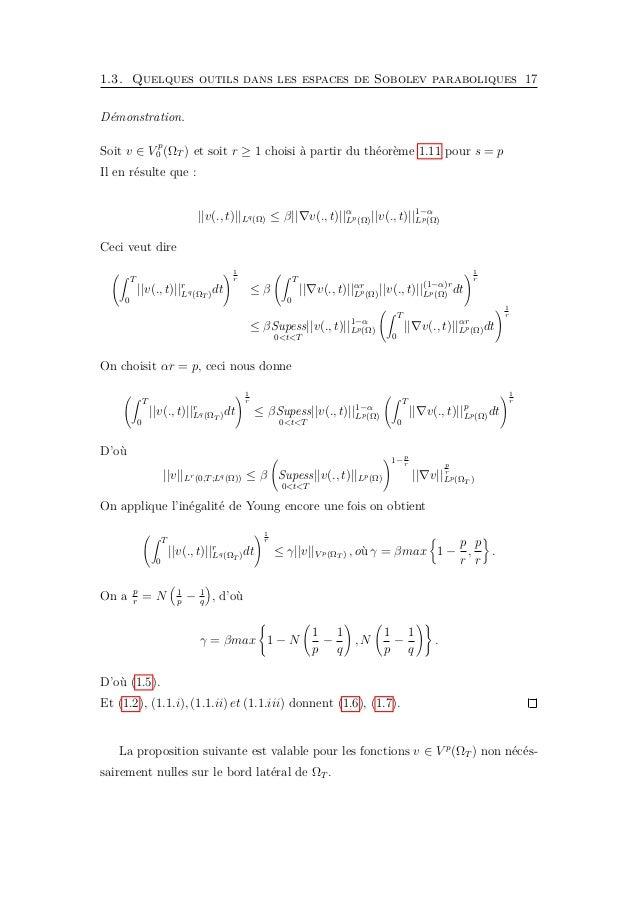 Chapitre 2 La méthode de monotonie La méthode de sous et sur-solutions est un outil puissant pour établir des résultats d'...