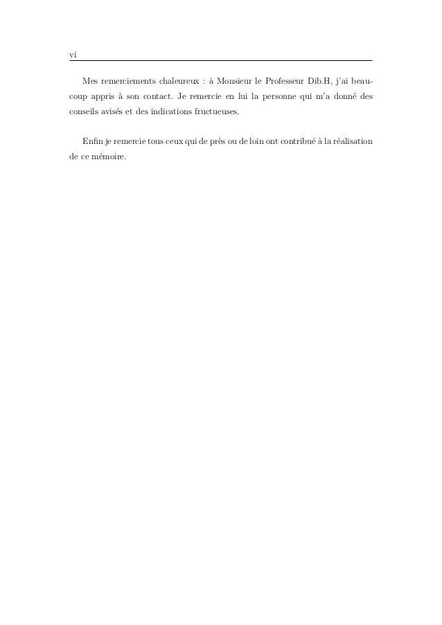 Table des matières Notations 1 Introduction 3 1 Préliminaires 5 1.1 Quelques outils dans les espaces de Lebesgue . . . . ....